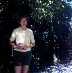 Mom_under_walnut_tree